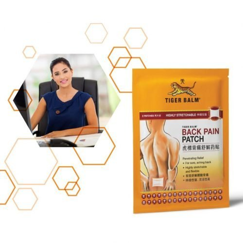 Tiger balm backpain plaster
